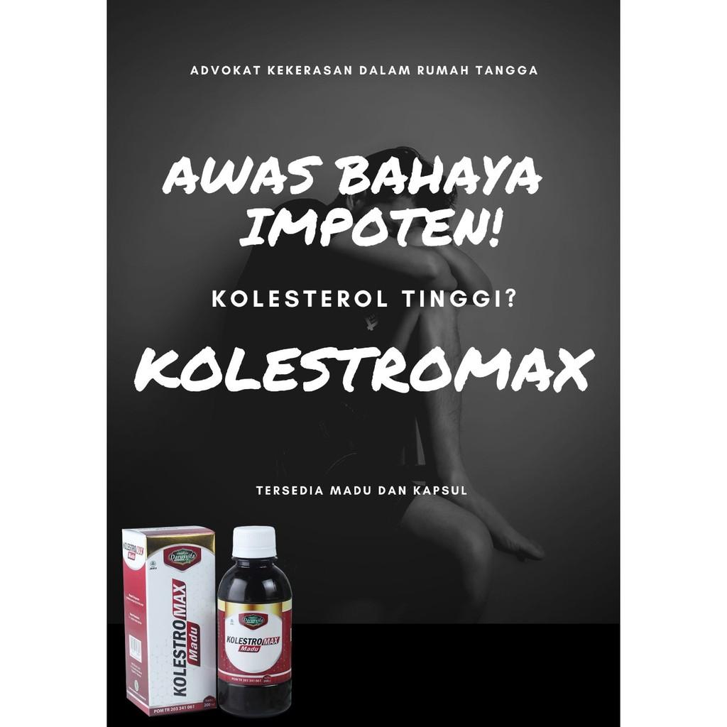 Atasi Gangguan Kolesterol dengan KOLESTROMAX
